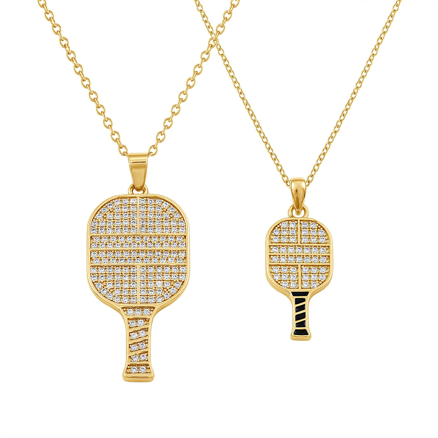 CZ Pickle Paddle Pendant Collection