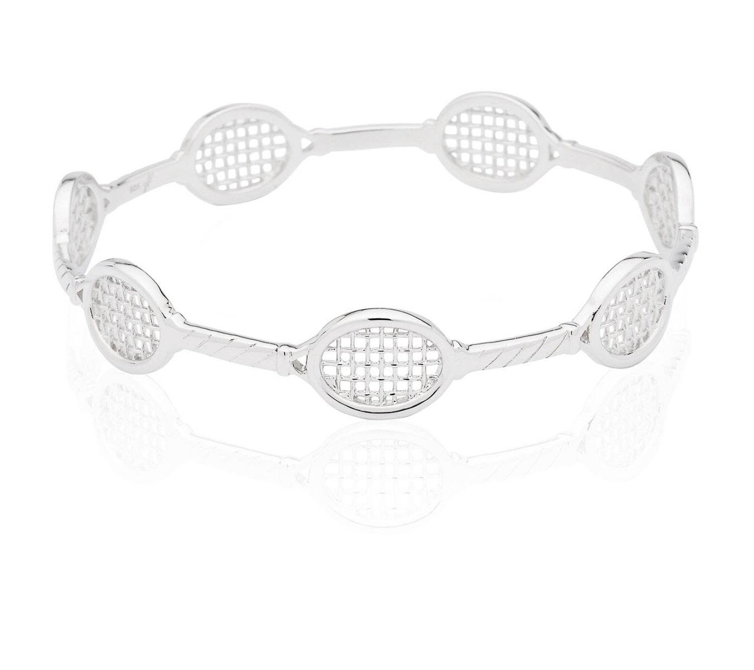 Love Tennis Racquet Bangle - studio-margaret