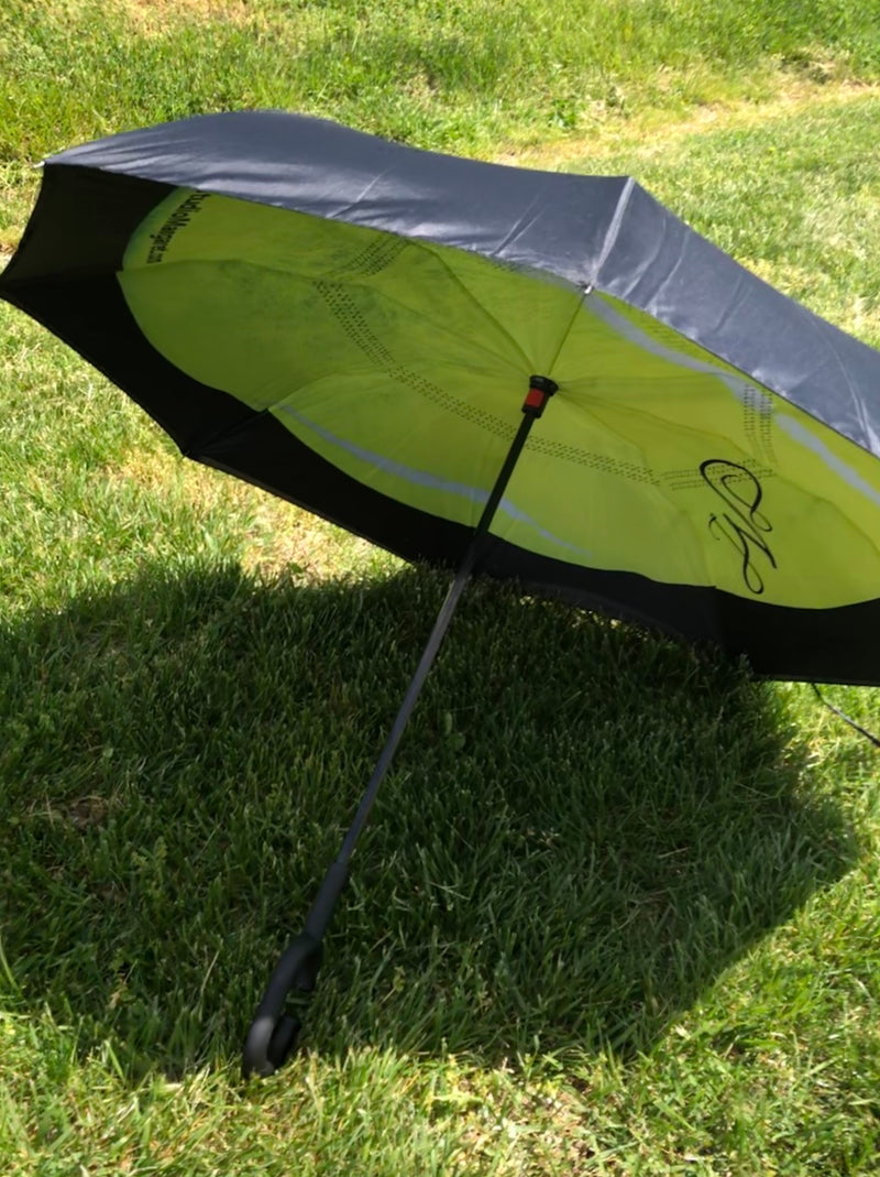 Tennis Ball Reverse Umbrella