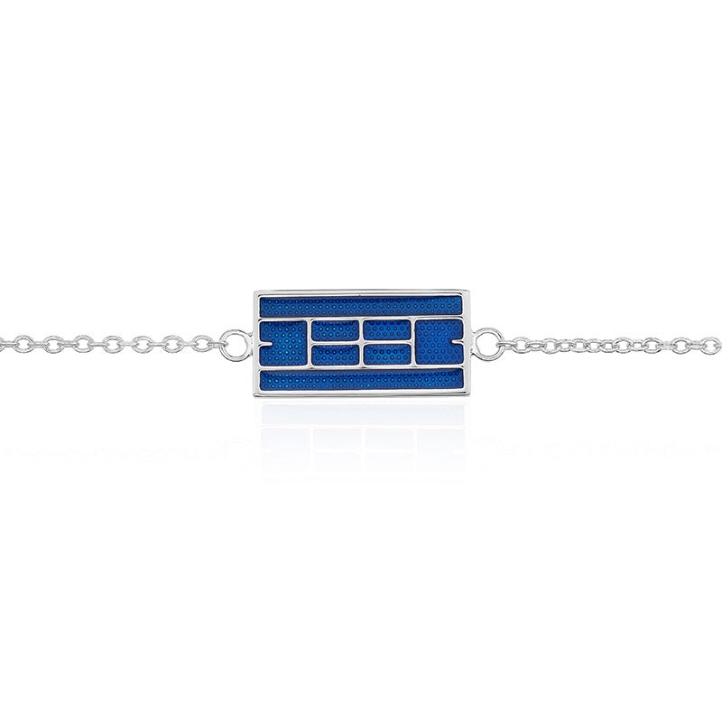 Enameled Tennis Court Bracelet (3 Colors) - studio-margaret
