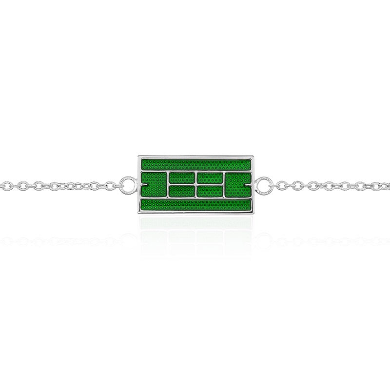 Enameled Tennis Court Anklet (3 Colors) - studio-margaret