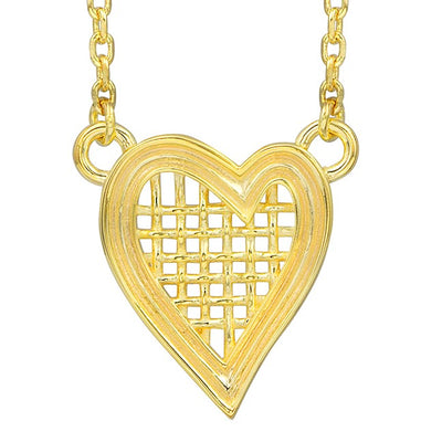 Heart Strings Necklace Small