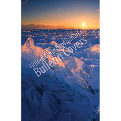 Bulletin: Sunrise over Lake Ice (Package of 50)