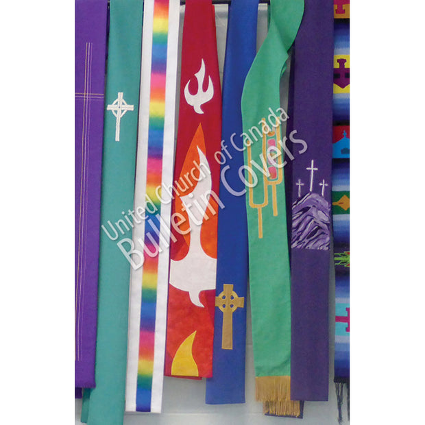 Bulletin: Colourful Stoles (Package of 50)