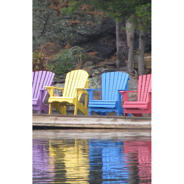 Bulletin: Chairs on Dock (Package of 50)