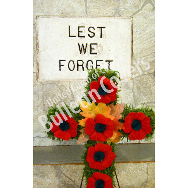 Bulletin: Lest We Forget (Package of 50)