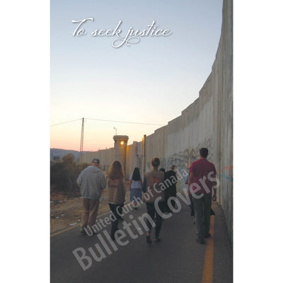 Bulletin: Separation Barrier, Bethlehem (Package of 50)