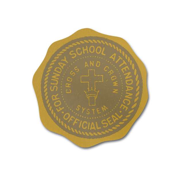 Cross and Crown Award Program: Official Diploma Seal (Year 1)