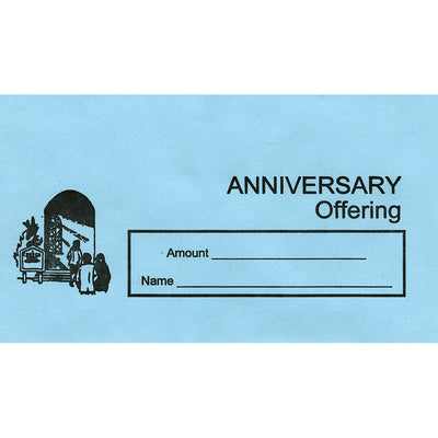 Anniversary Offering Envelopes