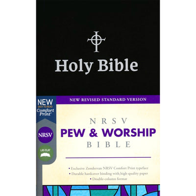 NRSV Pew and Worship Bible: Comfort Print, Black Cover