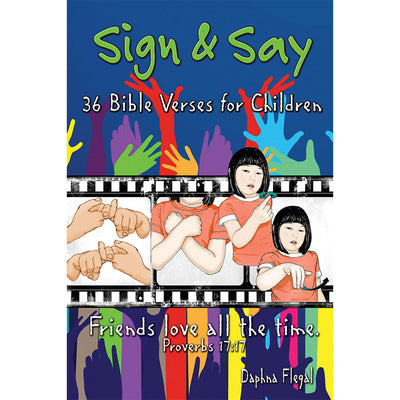 Sign & Say: 36 Bible Verses for Children