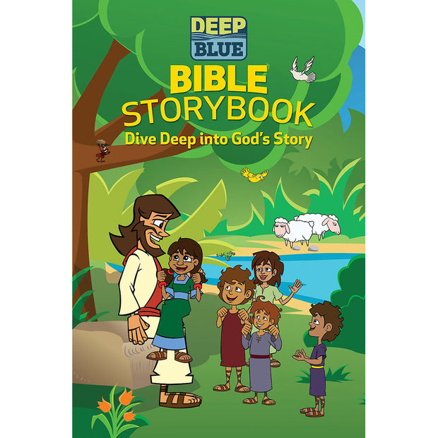 Deep Blue Bible Storybook: Dive Into God's Story