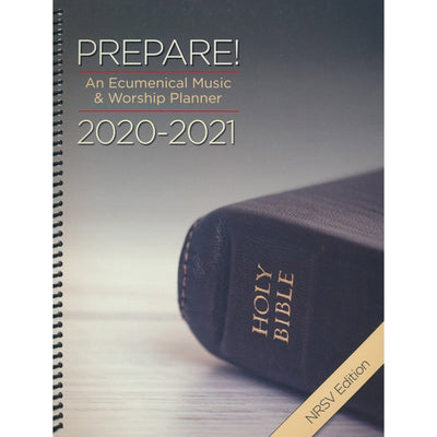 Prepare! 2020-2021 NRSV Edition: An Ecumenical Music & Worship Planner