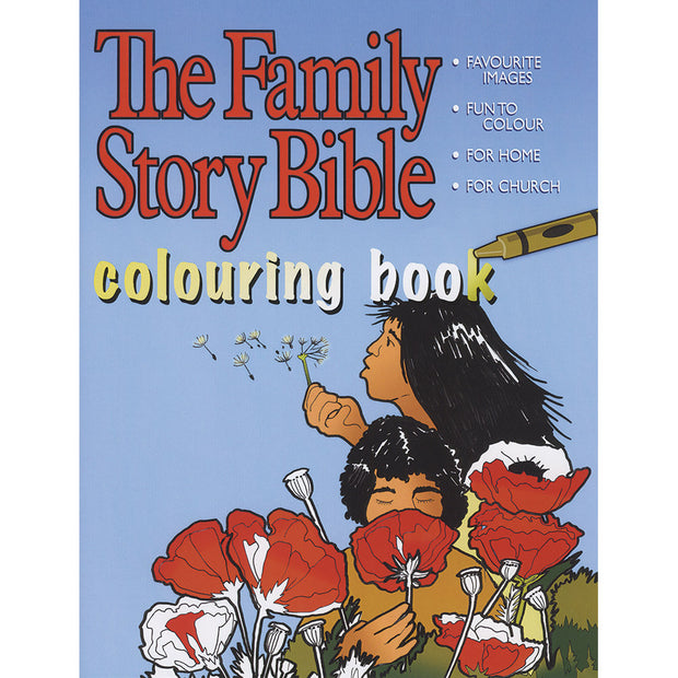 Family Story Bible Colouring Book: Volume 1