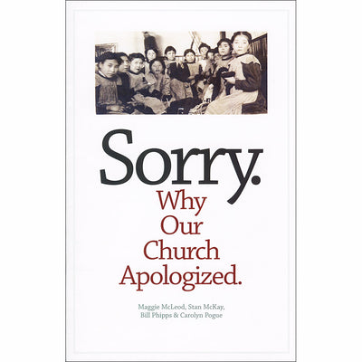 Sorry: Why Our Church Apologized