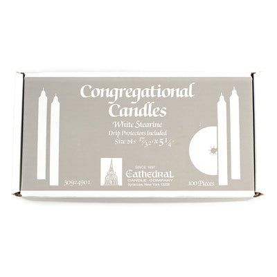 Vigil Candle with Bobeche (Pkg of 100)