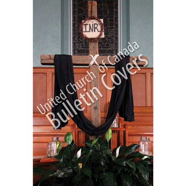Bulletin: Good Friday Cross (Package of 50)