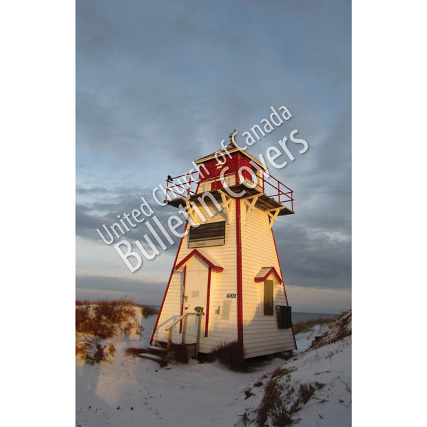 Bulletin: Winter Lighthouse (Package of 50)