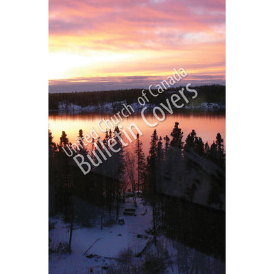 Bulletin: Sunrise on Grace Lake (Package of 50)