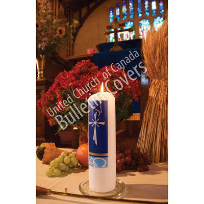 Bulletin: Thanksgiving Altar with Candle (Package of 50)