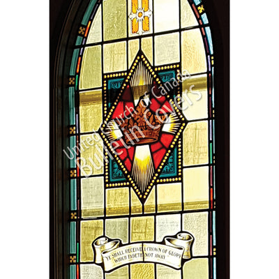 Bulletin: Cross and Crown Window (Package of 50)