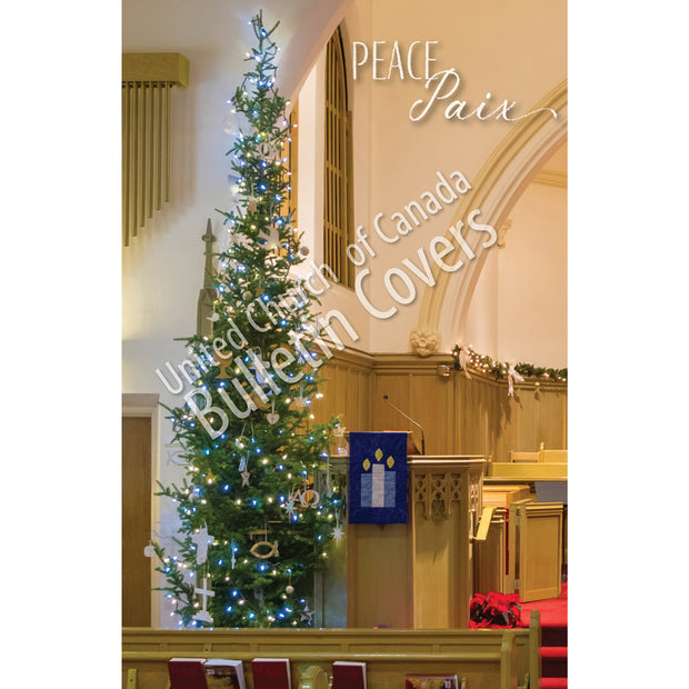 Bulletin: Christmas Tree in Church (Package of 50)