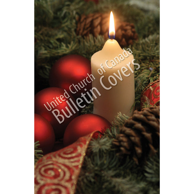 Bulletin: White Candle (Package of 50)