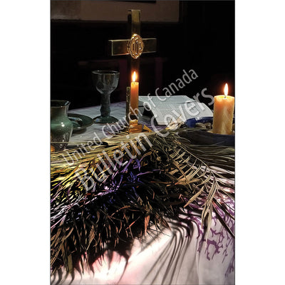 Bulletin: Candles and Palm Leaves (Package of 50)