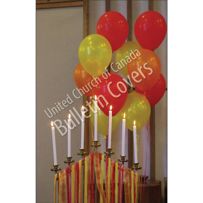 Bulletin: Pentecost Candles (Package of 50)