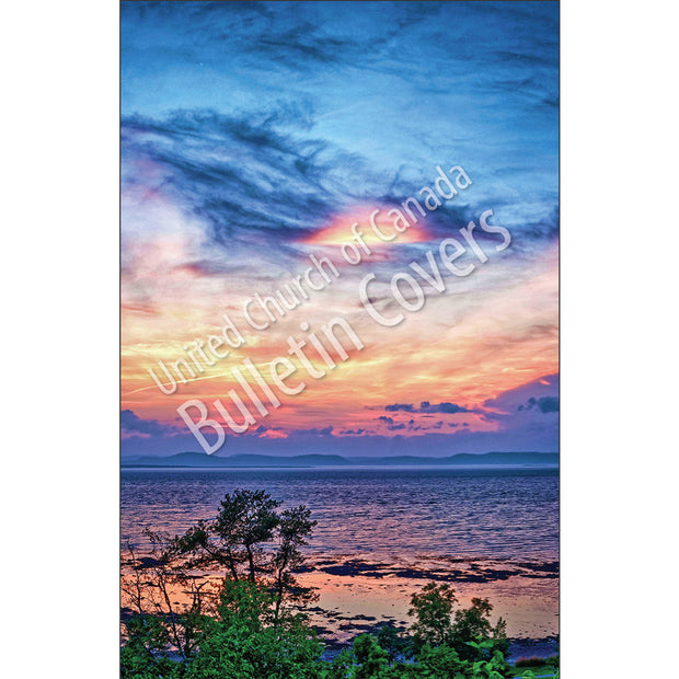 Bulletin: Quebec Sunset (Package of 50)