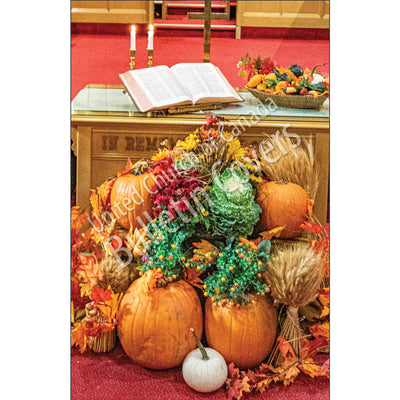 Bulletin: Thanksgiving Table (Package of 50)