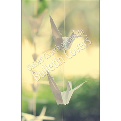 Bulletin: Paper Cranes (Package of 50)