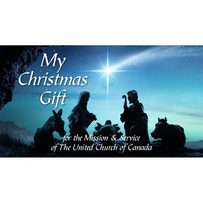 Christmas Offering Envelopes: Mission & Service (Pkg of 50)