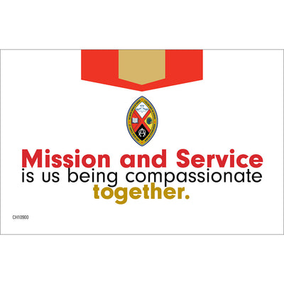 My Gift Mission and Service Envelopes (Pkg of 25)