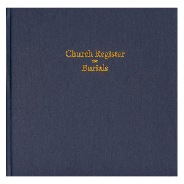 Church Register for Burials (Updated)