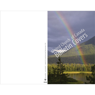 Special Occasion Bulletin: Rainbow over Rockies (Package of 100)