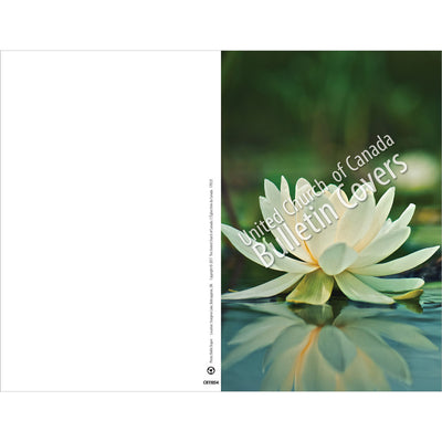 Special Occasion Bulletin: Waterlily (Package of 100)