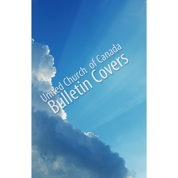 Special Occasion Bulletin: Light through Clouds (Package of 100)