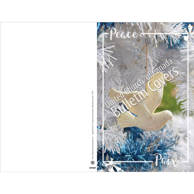 Special Occasion Bulletin: Peace: Dove (Package of 100)