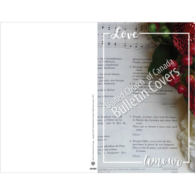 Special Occasion Bulletin: Love: Carol (Package of 100)