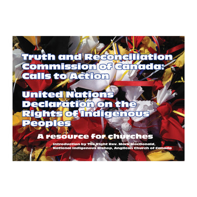 Truth and Reconciliation Commission of Canada Calls to Action/UN  Declaration on the Rights of Indigenous Peoples: A Resource for Churches