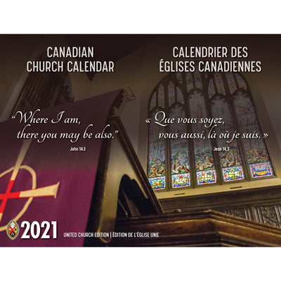 2021 Canadian Church Calendar