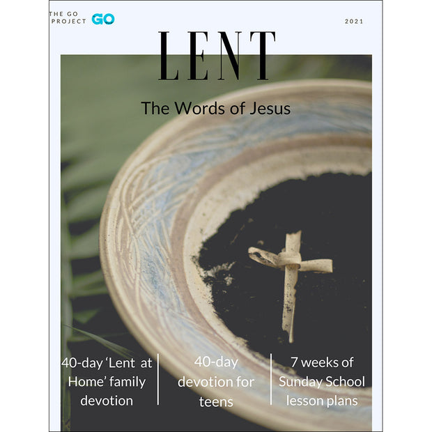 The GO Project Lenten Curriculum: Lent at Home