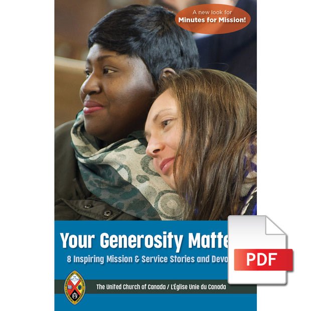 Your Generosity Matters 2021: 8 Inspiring Mission & Service Stories and Devotions (PDF Download)