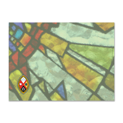 United Church Ordination Cards: Stained Glass