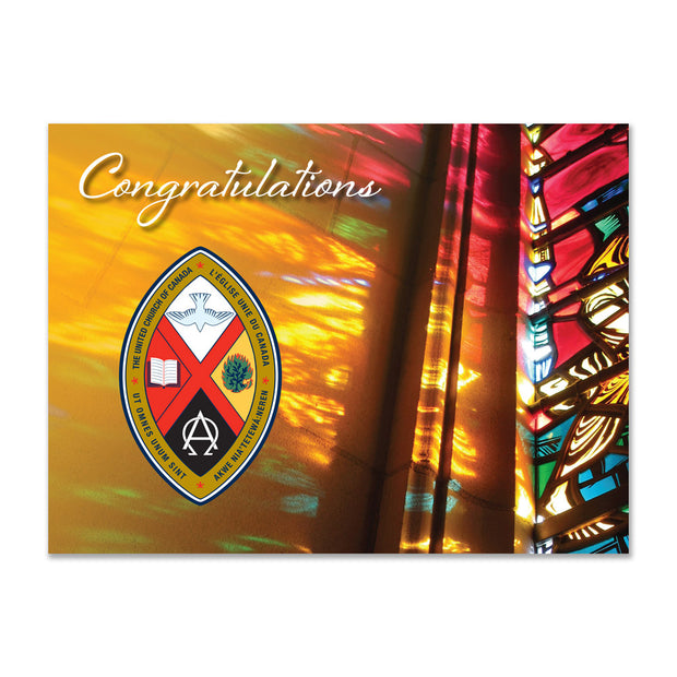 United Church Ordination Cards: Congratulations
