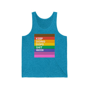 DopeMinds - Keep Doing Dope Shit Pride Edition Tank Top