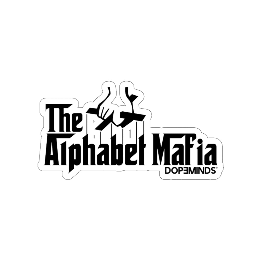 The Alphabet Mafia Sticker