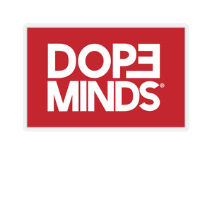 DopeMinds Box Logo Stickers