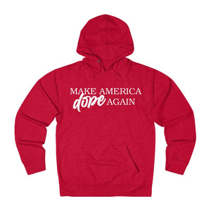 DopeMinds - Make America Dope Again -  Terry Cloth Pullover Hoodie